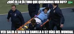 Enlace a Toda España en vilo ante la lesión de Silva