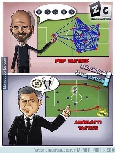 304717 - Las tácticas de Pep y Ancelotti