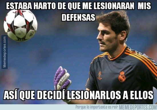 304770 - Casillas ya ha llegado al límite, ahora es su turno