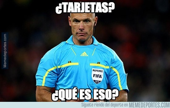 304828 - ¿Howard Webb tarjetas?