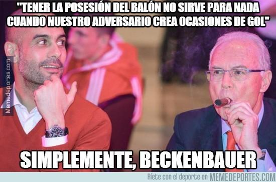 304888 - Beckenbauer rajando de Pep