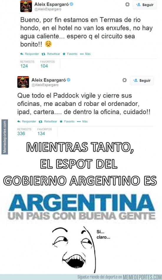 305470 - Aleix Espargaró ya sufre el GP de Argentina