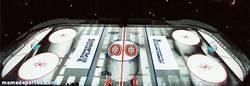 Enlace a GIF: Increíble proyección sobre hielo de los Canadiens de Montréal