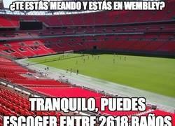 Enlace a Wembley tiene 2618 baños
