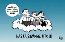 Enlace a Tito se une a otros dos grandes allí arriba