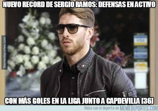 306418 - Junto al de expulsiones, Sergio Ramos también tiene el record de goleador
