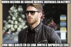 Enlace a Junto al de expulsiones, Sergio Ramos también tiene el record de goleador