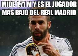 Enlace a Mide 1,71 m y es el jugador más bajo del Real Madrid