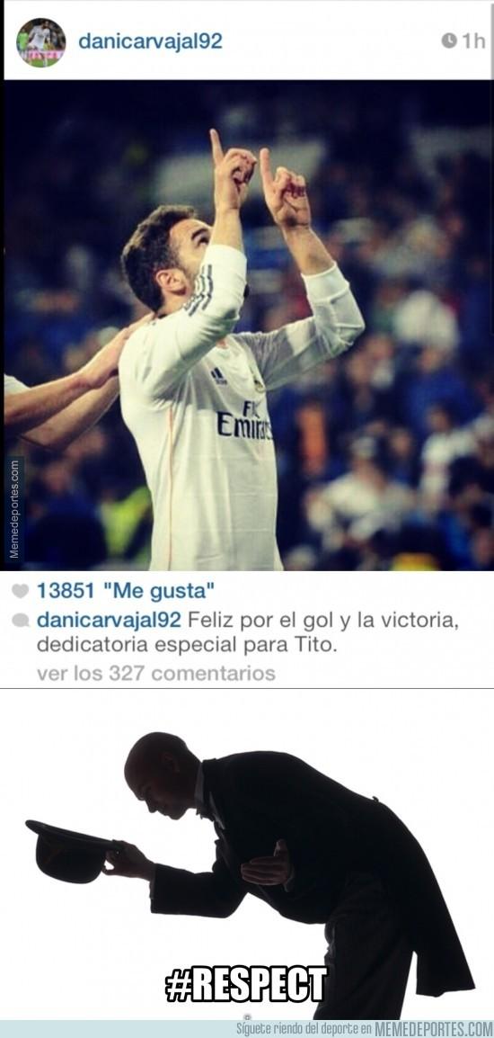 306567 - Carvajal también dedica su gol a Tito