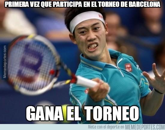 306989 - Nishikori gana el Conde de Godó