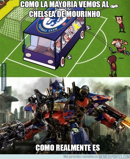 307086 - El Chelsea es un equipazo y Mourinho un estratega. Y punto