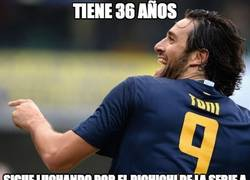 Enlace a Luca Toni sigue a tope a sus 36 años