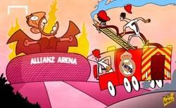 Enlace a El Madrid tratará de apagar hoy el fuego del Allianz Arena