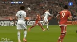 Enlace a GIF: Detallazo de Cr7 antes del gol