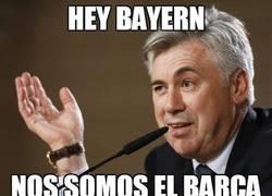 Enlace a Hey Bayern, no somos el Barça