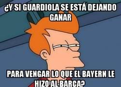 Enlace a Guardiola y el Madrid vengando al Barça