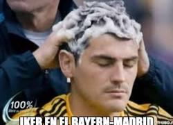 Enlace a Éste es Iker durante el Bayern-Madrid