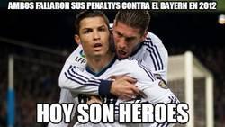 Enlace a Ambos fallaron sus penaltys contra el Bayern en 2012