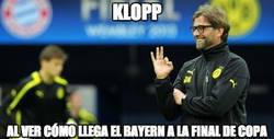 Enlace a Klopp está contentísimo con el estado de forma actual del Bayern