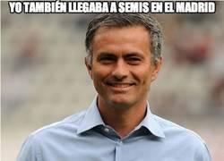Enlace a Ancelotti tampoco tiene tanto mérito, Mou también lo hacía