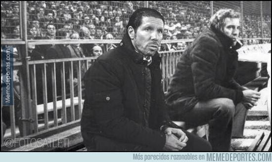 310114 - En la final de Champions, Simeone tendrá compañía en el banquillo