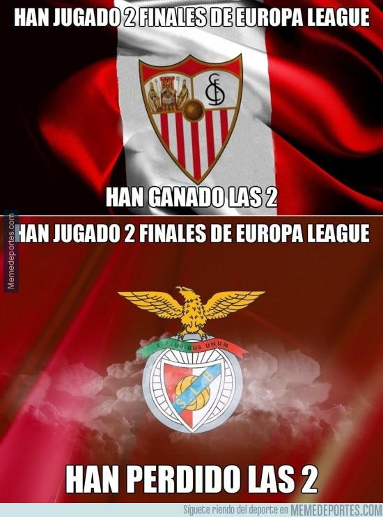 310845 - Dato curioso de cara a la final entre Sevilla y Benfica