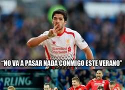 Enlace a Luis Suárez no se va del Liverpool