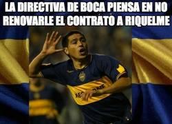 Enlace a La directiva de Boca piensa en no renovarle el contrato a Riquelme