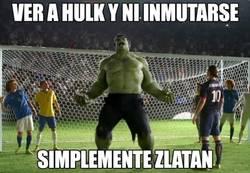 Enlace a Zlatan no conoce el miedo