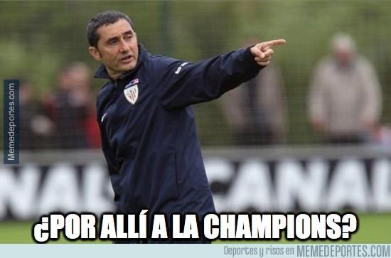 311229 - Valverde, directo a Champions con su Athletic