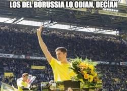 Enlace a Homenaje a Lewandowski en el Signal Iduna Park. Su último partido allí antes de irse a Múnich