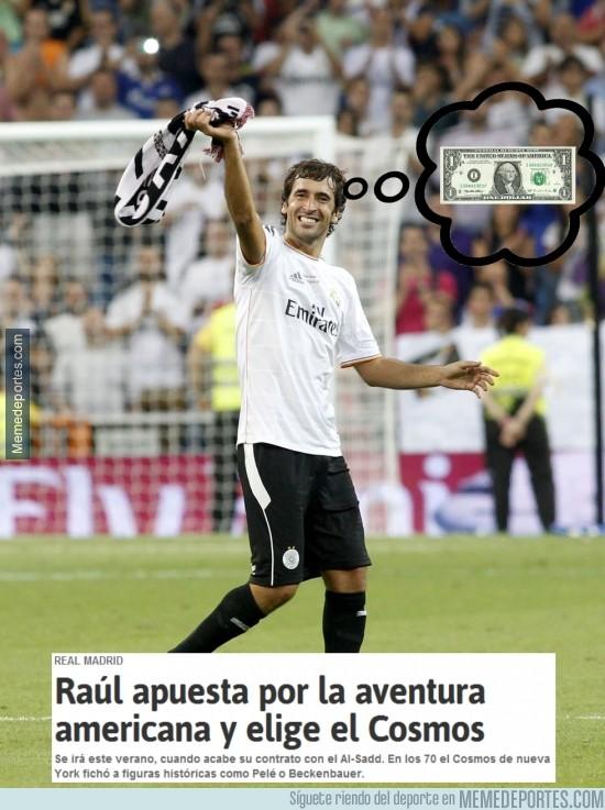 311843 - Raúl apuesta por la aventura, claro..