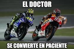 Enlace a El doctor se convierte en paciente