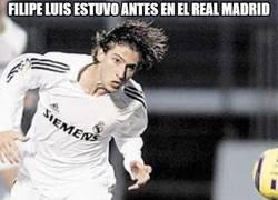 Enlace a Filipe Luis estuvo antes en el Real Madrid