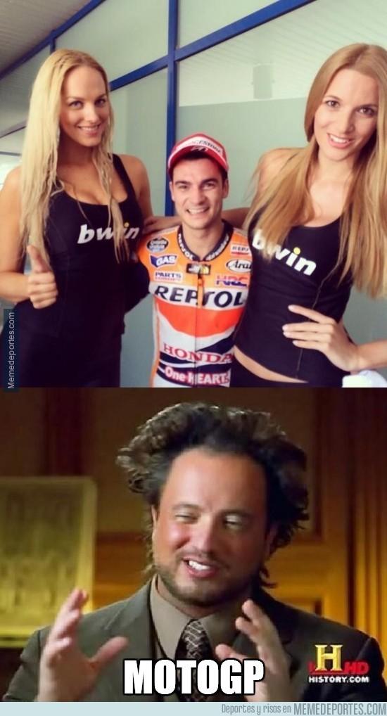 312412 - Pedrosa, qué suerte tienes de ser piloto de MotoGP, que si no...