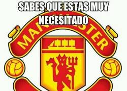 Enlace a Manchester United, tú antes molabas