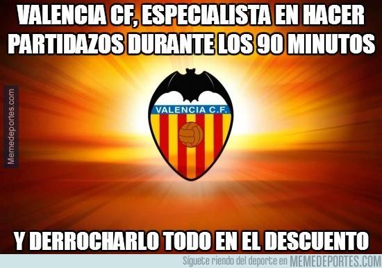 312785 - Valencia CF, especialista en hacer partidazos durante los 90 minutos