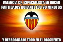Enlace a Valencia CF, especialista en hacer partidazos durante los 90 minutos
