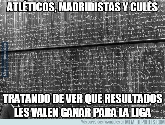 312843 - Atléticos, madridistas y culés ahora mismo