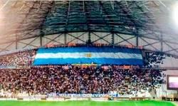 Enlace a Recibimiento del Olympique de Marsella a Bielsa. Se les ve animados