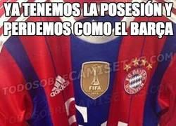 Enlace a Ésta será la próxima camiseta del Bayern de Munich. A punto de convertirse en el Barça
