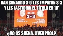 Enlace a Esto me suena a la mítica final Milan-Liverpool