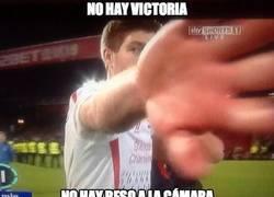 Enlace a Gerrard no está para tonterías