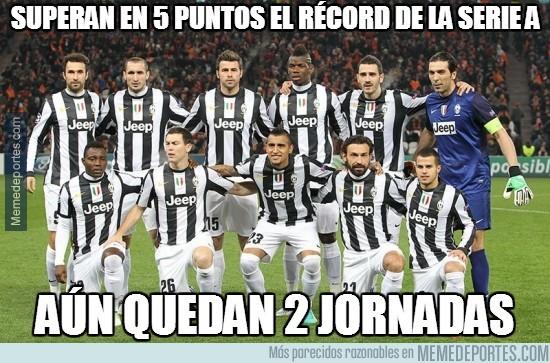 313452 - Superan en 5 puntos el récord de la Serie A