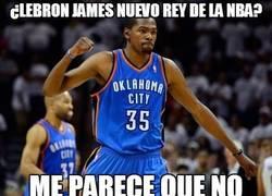 Enlace a ¿Lebron James nuevo rey de la NBA?