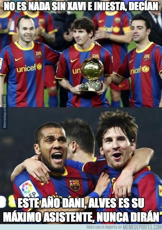 313930 - ¿El máximo asistente de Messi?