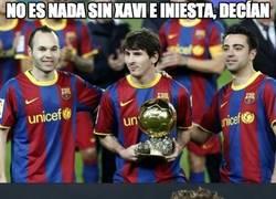 Enlace a ¿El máximo asistente de Messi?