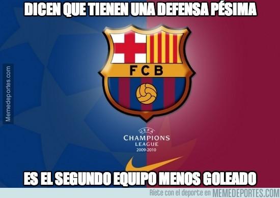 314222 - ¿El Barça una defensa pésima? Pero qué decís