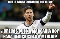 Enlace a Sergio Ramos, tío, está imparable