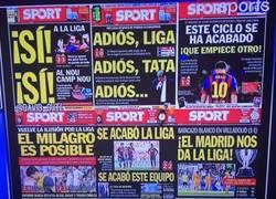 Enlace a El Barça está volviendo loco al Sport